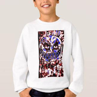 neon smiley face sweatshirt