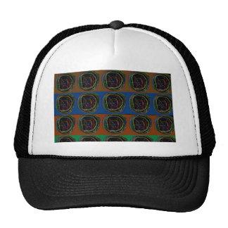 NEON Sparkle Graphic LINE art Trucker Hat