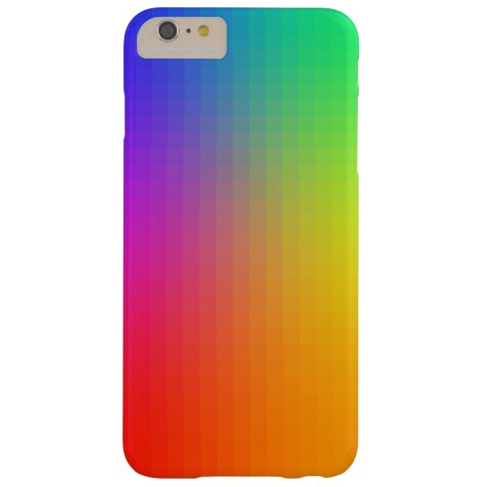 Neon Spectrum iPhone 6 Plus Case - PIXEL