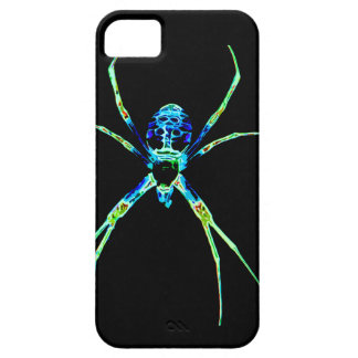 Neon Spider iPhone 5 Cases