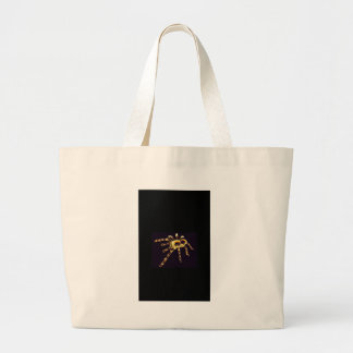 Neon Spider Large Tote Bag