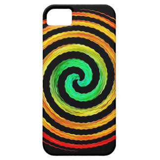 Neon Spiral iPhone 5 Cases