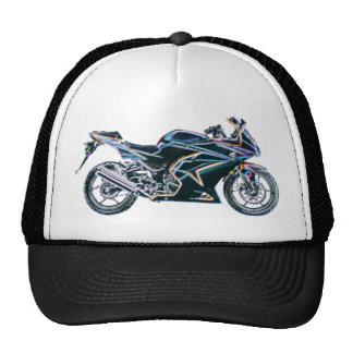 Neon Sport Bike Motorcycle Hat