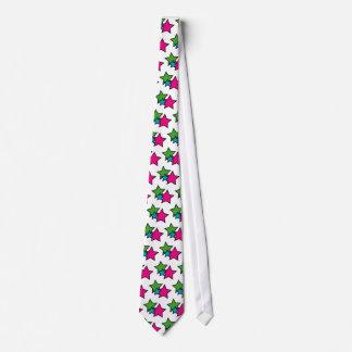 Neon Star Tie