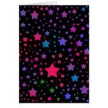 Neon Stars Cards