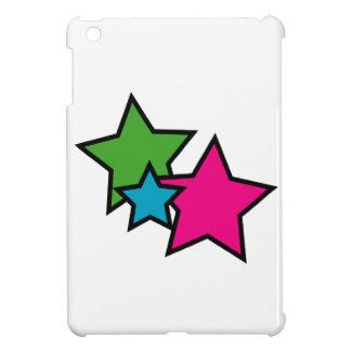 Neon Stars iPad Mini Cases