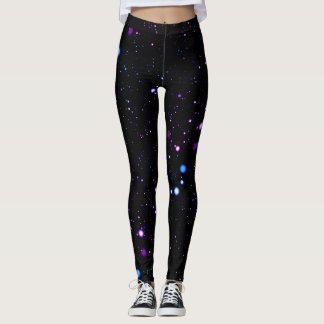 Neon Stars Leggings