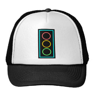 Neon Stoplight Cap