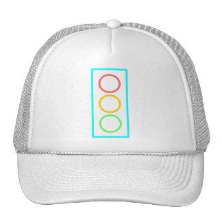 Neon Stoplight Mesh Hats
