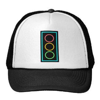 Neon Stoplight Mesh Hat