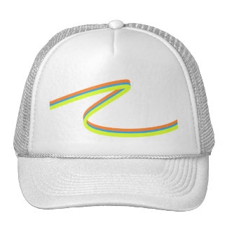 Neon Stripes Hat