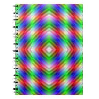 Neon Stripes Notebook