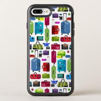Neon Suitcases OtterBox Symmetry iPhone 8 Plus/7 Plus Case