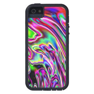 Neon Swirls iPhone 5 Case