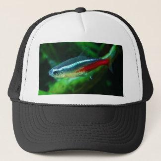 Neon Tetra Fish Paracheirodon Innesi Trucker Hat