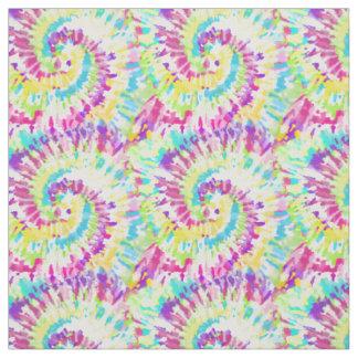 Neon Tie Dye Pattern Fabric