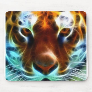 Neon Tiger Mouse Mat