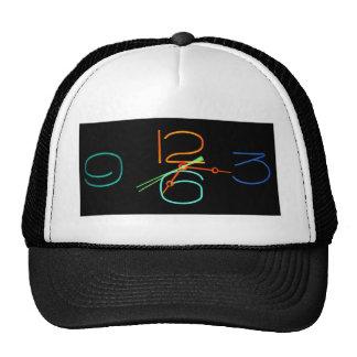 Neon Time Trucker Hats