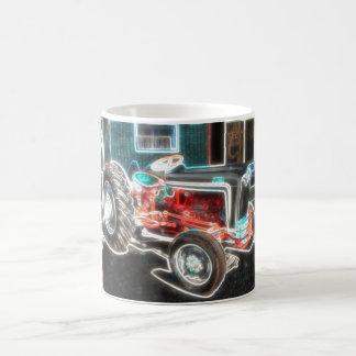 Neon Tractor Coffee Mug