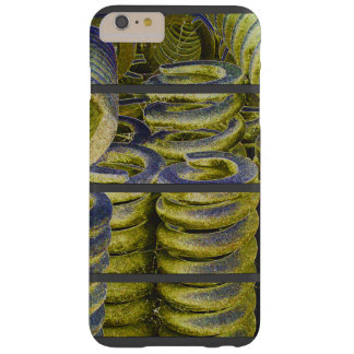 Neon Train Spring Design Barely There iPhone 6 Plus Case