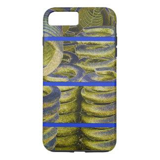 Neon Train Spring Design iPhone 8 Plus/7 Plus Case