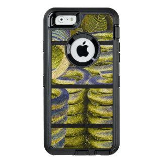 Neon Train Spring Design OtterBox Defender iPhone Case
