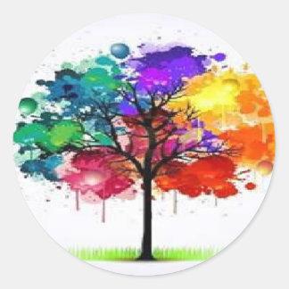 Neon Tree Classic Round Sticker