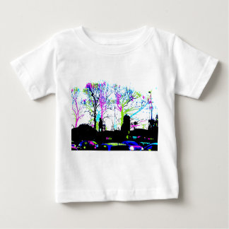 Neon Trees Urban Skyline cool original design Baby T-Shirt