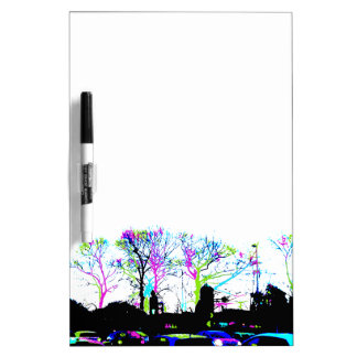Neon Trees Urban Skyline cool original design Dry-Erase Boards