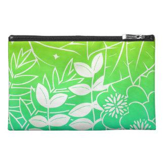 Neon Tropical Foliage Travel Accessory Bag