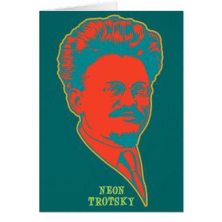 Neon Trotsky Greeting Card