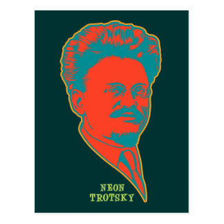 Neon Trotsky Postcard