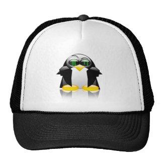 neon tux hat