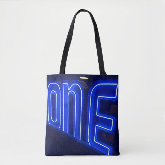 Neon ultraviolet One... and only Tote Bag