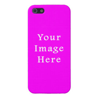 Neon Violet Purple Color Trend Blank Template iPhone 5 Cover