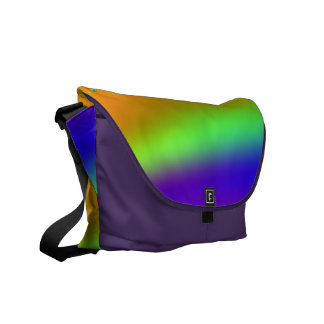 Neon Wave Courier Bags