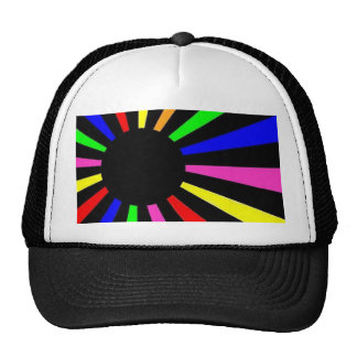 Neon World Flag Cap