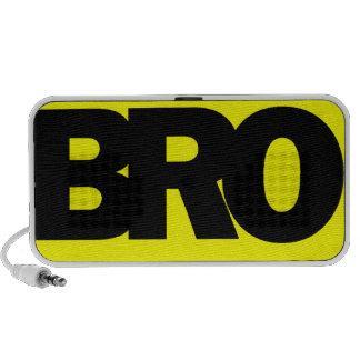 Neon Yellow BRO Mini Speaker