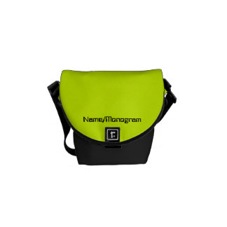 Neon Yellow, High Visibility Commuter Bags