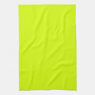 Neon Yellow, High Visibility Hand Towel