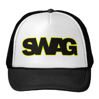 Neon Yellow SWAG Cap