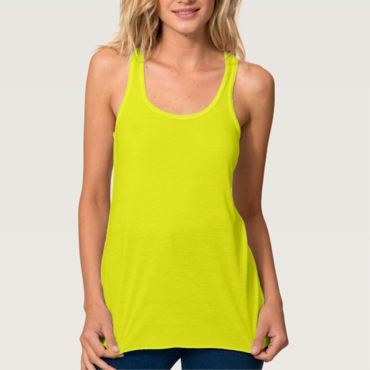 Neon Yellow Women's Tank Top