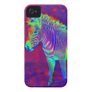 neon zebra i-phonecase Case-Mate iPhone 4 cases