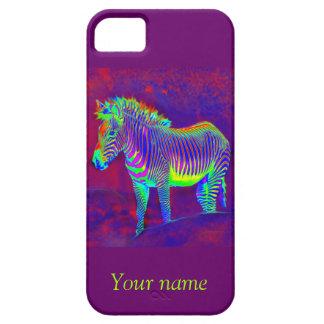 neon zebra iphone 5 protector iPhone 5 covers