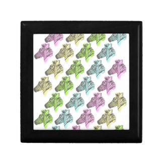 Neon Zebra Stripes Gift Box