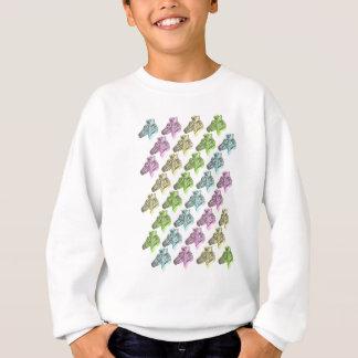 Neon Zebra Stripes Sweatshirt
