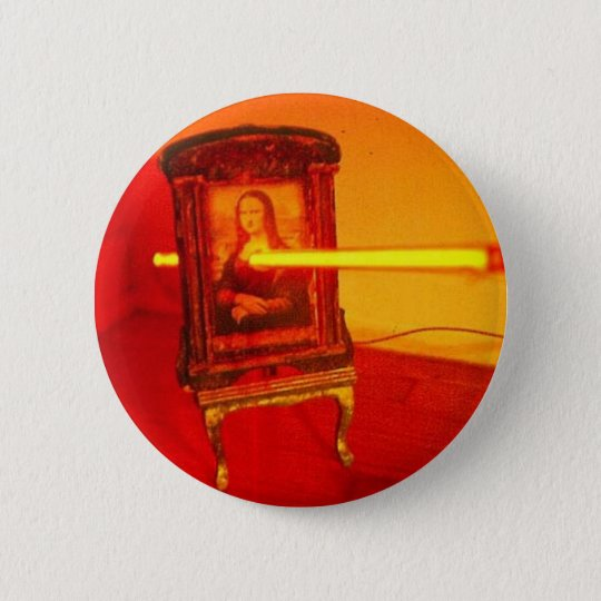 Neona Lisa 6 Cm Round Badge
