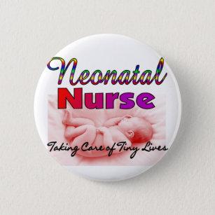 Neonatal/NICU Nurse Gifts 6 Cm Round Badge