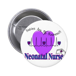 Neonatal Nurse Gift Ideas--Unique Designs 6 Cm Round Badge