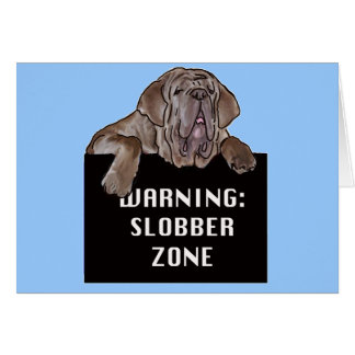 Neopolitan Mastiff Card